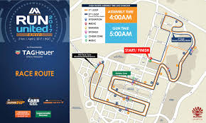 Map Run Route by Run United Exceed Activehealth