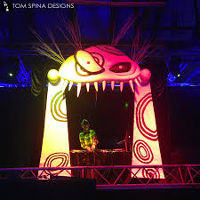 halloween stage props tim burton themed party custom foam event props tom spina