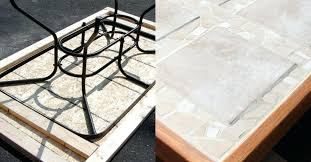 tile top patio table and chairs tile patio table phaserle com