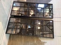 black steel window frames decor window ideas
