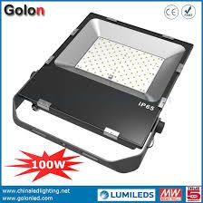 100 watt led flood light price factory price 100w led flood light for cold storage sport court