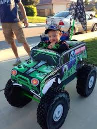 Halloween Costumes Monsters Coolest Homemade Grave Digger Monster Truck Halloween Costume