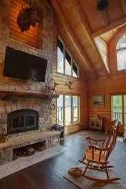 lake lacygne ks l12162 real log homes interior pictures
