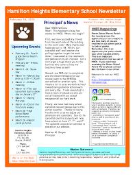 best photos of sample newsletter templates free preschool