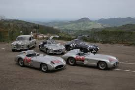 mercedes classic car celebrating the biggest stars of the mille miglia mercedes benz