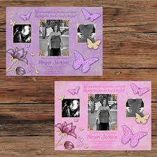butterfly baby shower pink purple gold glitter butterfly baby shower invitations
