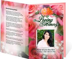 downloadable funeral program templates downloadable funeral bulletin covers an exle of a funeral