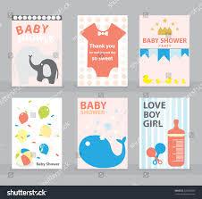 baby shower greeting card happy birthday stock vector 522392983