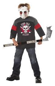 Halloween Costumes Jason Voorhees Friday 13th Jason Voorhees Blood Sport Child Costume Ebay