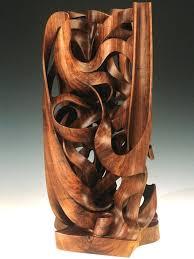 organic wood sculpture monumental wood sculpture gaia american black walnut harry