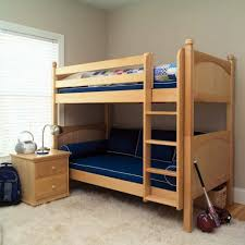 Hand Made Bunk Beds by Endearing Kids Bedroom Decoration Interior Ideas Presenting