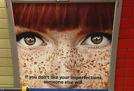 Match com dissed red hair and freckles on their latest ad  which is just insane HelloGiggles