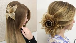 long hair style showing ears top 15 amazing hair transformations beautiful hairstyles