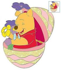 winnie the pooh easter eggs winnie the pooh inside easter egg happy easter series pin from