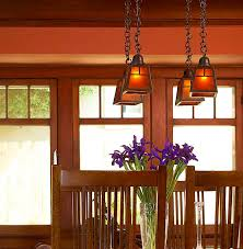 Arts And Crafts Dining Room Furniture by Lighting To Accent And Define Crafts Paint Colors And Home