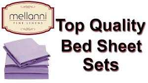 mellanni most comfortable bed sheets bed set high