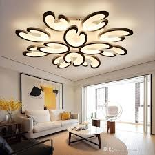 Acrylic Ceiling Light Modern Flower Led Acrylic Ceiling Light Flower Pendant L For