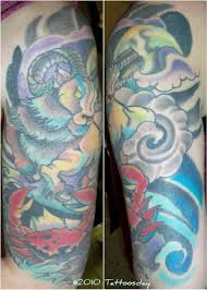 tattoosday a tattoo blog katie u0027s astrological ink cancer with