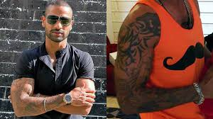 from virat kohli to dale steyn 8 cricketers with tattoo