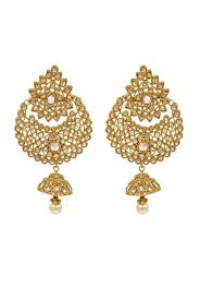 karigari earrings golden big jhumkas new collection only at karigari designer