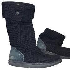 ugg womens boots mid calf s black ugg mid calf boots on poshmark