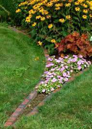 plastic garden edging ideas brick garden edging ideas for flower beds best bed your home garden trends