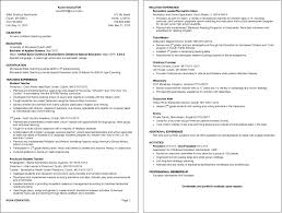 Resume Examples For Students by Resume Examples Umd