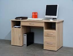 Schreibtisch In Buche Schreibtisch Workstation Computertisch Tisch Mod W033 Weiss Buche