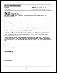 business report template business analysis report example customizable form templates business analysis report example customizable form templates inside failure analysis report template