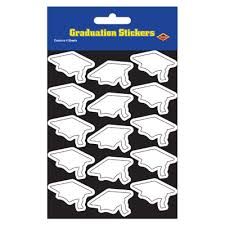 graduation cap stickers buy grad cap stickers cappel s costumes and party supplies