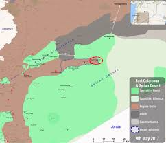 Tabqa Dam Raqqa Syria Google Maps by Day Of News On The Map May 09 2017 Map Of Syrian Civil War