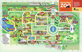 chicago zoo map chicago zoological society zoo map trip to chicago
