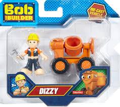 fisher price bob builder diecast dizzy toy vehicle figure