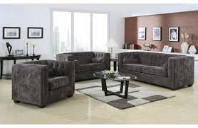 Nolana Charcoal Sofa by Coaster Anson Formal Dining Room Collection