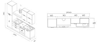 hauteur de meuble de cuisine hauteur standard meuble cuisine meuble cuisine dimension