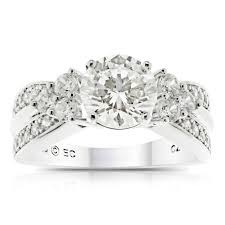 Walmart Jewelry Wedding Rings by Believe By Brilliance Round Simulated Diamond Sterling Silver