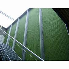 Trellis System 3d Galvanized Welded Wire Trellis System Creates Both Vertical
