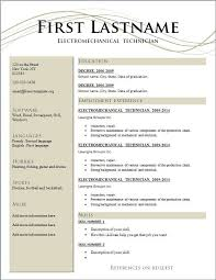 resume template for wordpad resume template for wordpad and templates all best cv resume ideas