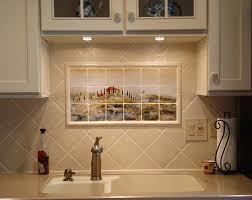tile murals for kitchen backsplash kitchen kitchen backsplash with tile murals of tuscany