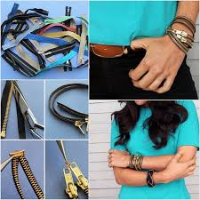 diy hand bracelet images Creative zipper bracelet diy alldaychic jpg