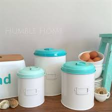 teal kitchen canisters mid century aqua turquoise white kitchen canisters lustro aqua