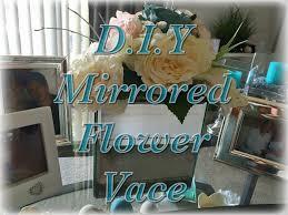 mirror vase d i y youtube