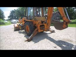 case 580b backhoe for sale sold at auction july 17 2014 youtube