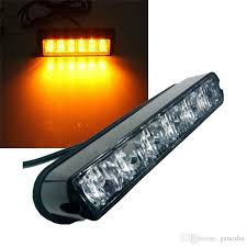led security light bar 6 led light bar beacon vehicle grill strobe light emergency warning
