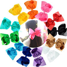 big bows for hair 15 pc 6in boutique hair bows for baby