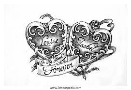 download 4 heart tattoo danielhuscroft com