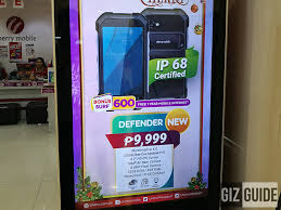 Rugged Design Cherry Mobile Defender With Rugged Design Spotted Priced At Php 9999