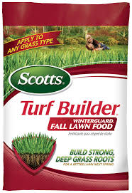 scotts turf builder winterguard fall lawn food lawn care scotts
