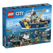Deep Silo Builder Amazon Com Lego City Deep Sea Explorers 60095 Exploration Vessel