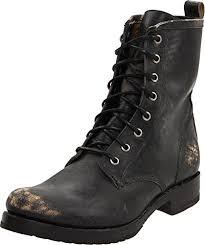 womens boots frye amazon com frye s combat boot mid calf